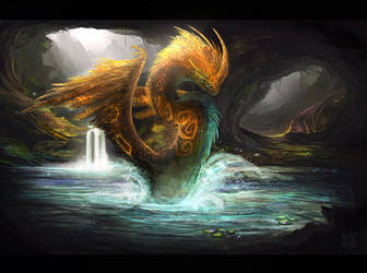 Quetzalcoatl by VampirePrincess007