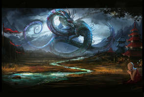 Shenlong the rainbringer by VampirePrincess007