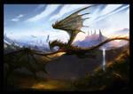 The return of Alduin by VampirePrincess007