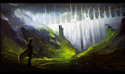 The wall by VampirePrincess007