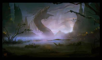 Jormungandr by VampirePrincess007