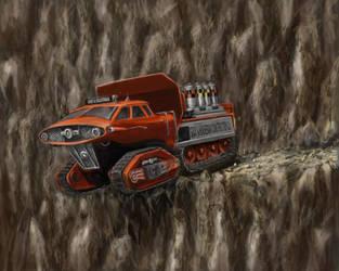 Eddie Tractor Thunderbirds by matteline67