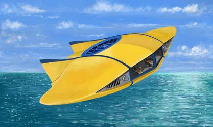 Flying Sub by matteline67