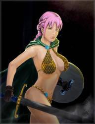 Rebecca from Dressrosa by ekoyagami
