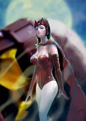 Scarlet Witch by ekoyagami