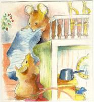 two mice by ekoyagami