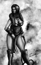 gladiator sketch 2 by Bowly69