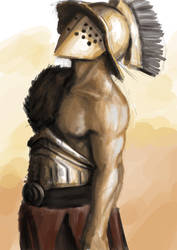 gladiator sketch 3 by Bowly69
