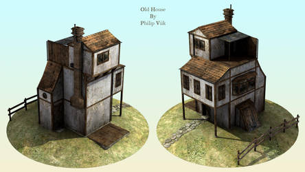 Old house by Reapsert