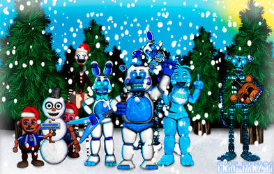 FNaF 2 Frosty Toy's by Fnaf-fan201