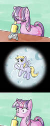 EqD ATG II - Day 5 - Tiny Pony by muffinshire
