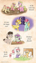EqD ATG II - Day 21 - Ponies Helping by muffinshire