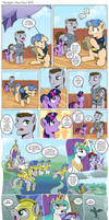 Comic - Twilight's First Day #10 by muffinshire