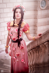 Aerith - FFVII (Design by Hannah Alexander) by Lanaluuv