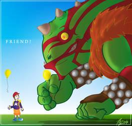 Friend? by siamgxIMA