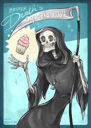 Master Death's cupcake magic by InsaneNudl