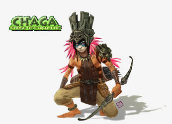 Chaga the Shaman by axl99