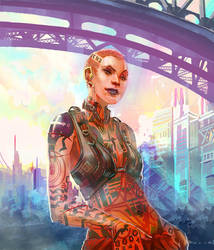 Mass Effect 2 - Subject Zero by axl99