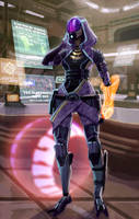 Tali - Shopping for Chikktika by axl99