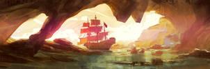 Pirate Cove by axl99