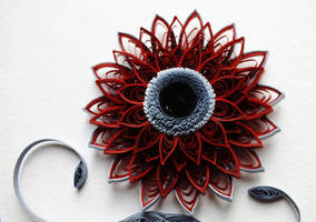 the main element of quilling pictures Passion by othewhitewizard