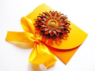orange envelope by othewhitewizard