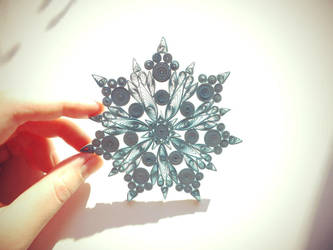 snowflake by othewhitewizard