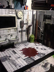 SAW (film)diorama by binky1020