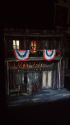 Old west Union Hotel diorama by binky1020