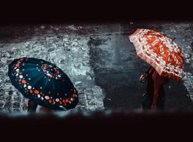 Umbrellas by hiimlucifer