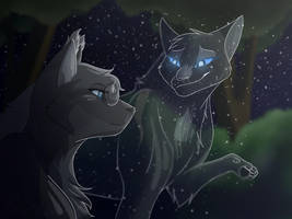 Descendants- Bluestar and Mistystar by DJKitKat12