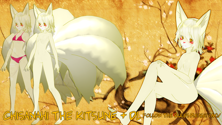 Chisanahi the kitsune + DL (MMD) by Subnormal5000
