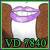 VD7840 small badge by Unisamas-Art