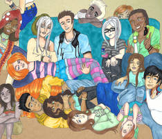 CSST5: Family is what you make of it by Unisamas-Art