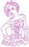 Raffle Prize- Gearshift sketch by Unisamas-Art