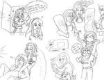 CAraffle- Potoo sketch page by Unisamas-Art