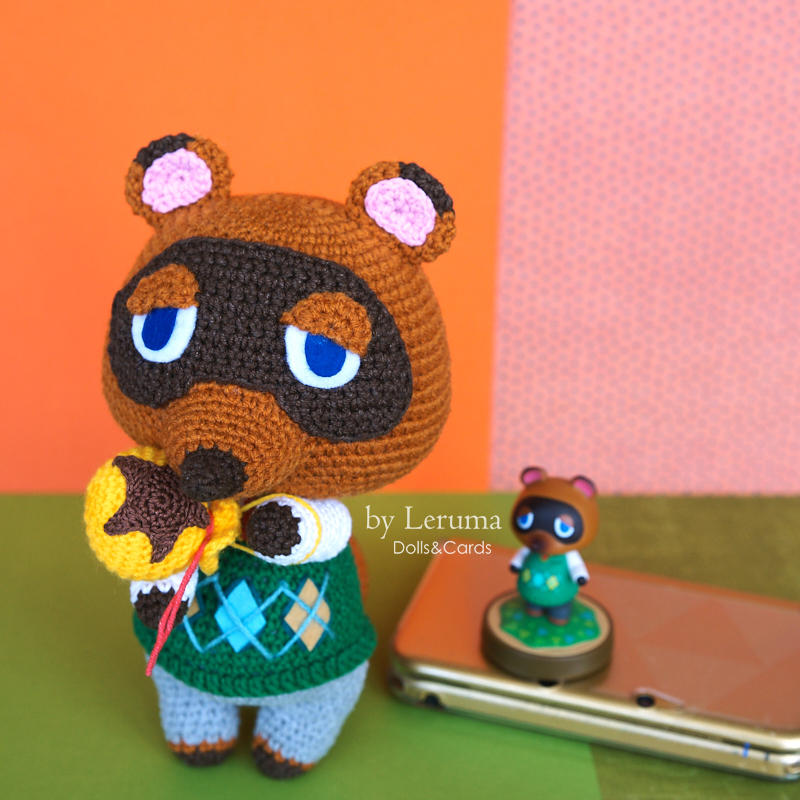 Plush Tom Nook from Animal Crossing by LerumaDolls