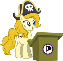 Ancilla of the Pirate Party by stjonal