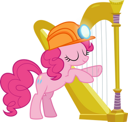 PinkiePie is more musically gifted than everyone! by stjonal