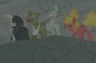 4 Ponies of the Apocalypse. by stjonal