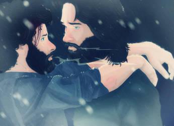 Warm hearts, cold hearts. by YuriJojo