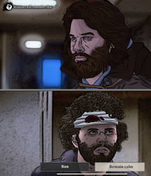 Telltale's The Thing by YuriJojo