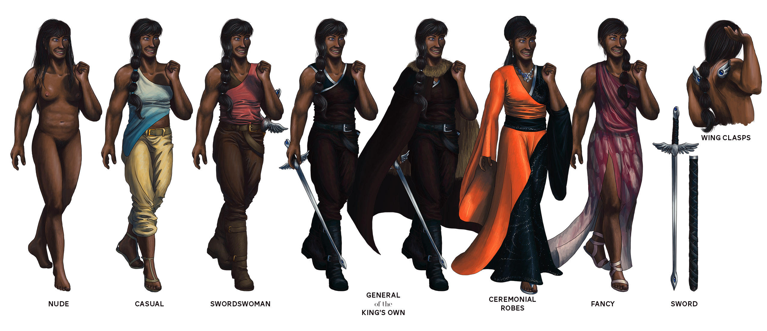 General Nimay: Character Reference by annarti