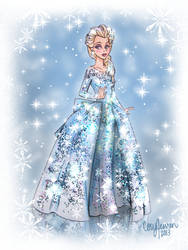 Elsa Gown Design by Cor104