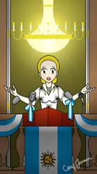 Evita Peron by Cor104