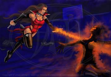 Heart on Fire by ValerieJB