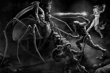 Battle Within by ValerieJB
