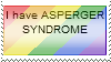 Asperger Syndrome Stamp by MooniGaming