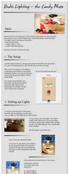 Studio lighting tutorial by Behindmyblueeyes