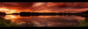 Kuivasjarvi Panorama Red by Behindmyblueeyes
